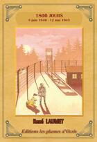 Couverture du livre « 1800 jours » de Rene Laumet aux éditions Les Plumes D'ocris