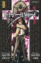 Couverture du livre « Death note ; t.1 et t.2 » de Takeshi Obata et Tsugumi Ohba aux éditions Kana