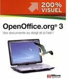 Couverture du livre « Openoffice.org 3 » de Olivier Abou aux éditions Micro Application