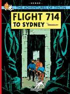 Couverture du livre « Flight 714 to Sydney » de Herge aux éditions Casterman