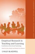Couverture du livre « Empirical Research in Teaching and Learning » de Debra Mashek et Elizabeth Yost Hammer aux éditions Wiley-blackwell