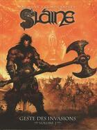 Couverture du livre « Slaine, geste des invasions t.2 » de Clint Langley et Pat Mills aux éditions Nickel