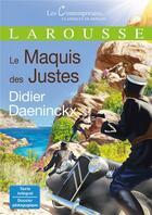 Couverture du livre « Le maquis des justes » de Didier Daeninckx aux éditions Larousse