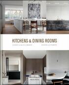 Couverture du livre « Kitchens and dining rooms » de Wim Pauwels aux éditions Beta-plus