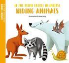 Couverture du livre « Mes premiers mots en anglais - animaux qui se cachent » de Anna Lang aux éditions White Star Kids