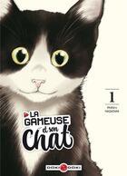 Couverture du livre « La gameuse et son chat T.1 » de Nadatani Wataru aux éditions Bamboo