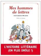 Couverture du livre « Mes hommes de lettres » de Catherine Meurisse aux éditions Sarbacane