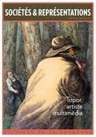 Couverture du livre « Topor, artiste multimédia » de Alexandre Devaux et Bertrand Tillier aux éditions Publications De La Sorbonne