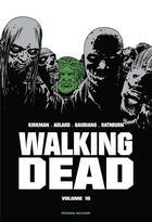 Couverture du livre « Walking dead ; INTEGRALE VOL.10 ; T.19 ET T.20 » de Charlie Adlard et Robert Kirkman et Stefano Gaudiano et Cliff Rathburn aux éditions Delcourt