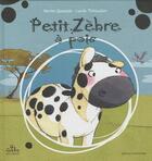 Couverture du livre « Petit zèbre à pois » de Lucile Thibaudier aux éditions Gecko