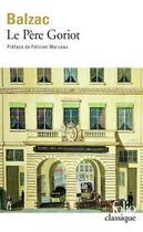 Couverture du livre « Le père Goriot » de Honoré De Balzac aux éditions Gallimard