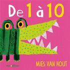 Couverture du livre « De 1 à 10 » de Mies Van Hout aux éditions Mineditions