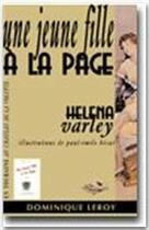 Couverture du livre « Une jeune fille à la page » de Helena Varley aux éditions Dominique Leroy