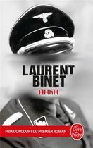 Couverture du livre « HHhH » de Laurent Binet aux éditions Lgf