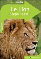 Couverture du livre « Le lion » de Valerie Temman et Joseph Kessel aux éditions Belin Education