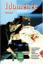 Couverture du livre « L'avant-scène opéra N.89 ; Idoménée » de Wolfgang-Amadeus Mozart aux éditions L'avant-scene Opera
