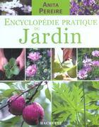 Couverture du livre « Encyclopedie Pratique Du Jardin » de Anita Pereire aux éditions Hachette Pratique