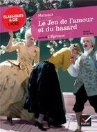 Couverture du livre « Le jeu de l'amour et du hasard ; l'épreuve » de Pierre De Marivaux aux éditions Hatier