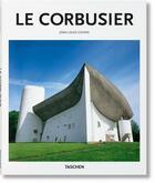 Couverture du livre « Le Corbusier » de Peter Gossel et Jean-Louis Cohen aux éditions Taschen