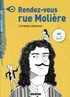 Couverture du livre « Rendez-vous rue Molière » de Catherine Grabowski aux éditions Didier