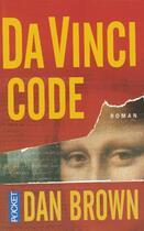 Couverture du livre « Da vinci code » de Dan Brown aux éditions Pocket