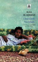 Couverture du livre « L'immeuble Yacoubian » de Alaa El Aswany aux éditions Actes Sud