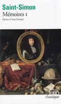Couverture du livre « Mémoires t.1 » de Saint-Simon aux éditions Gallimard