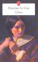 Couverture du livre « Celeste » de Martine Le Coz aux éditions Lgf