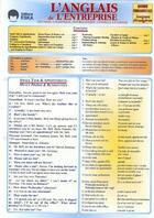 Couverture du livre « L'anglais de l'entreprise » de Heise Al aux éditions Eska