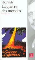 Couverture du livre « La guerre des mondes » de Herbert George Wells et Jean-Francois Dubois aux éditions Gallimard