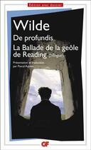 Couverture du livre « De profundis ; la ballade de la geôle de Reading » de Oscar Wilde aux éditions Flammarion