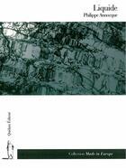 Couverture du livre « Liquide » de Philippe Annocque aux éditions Quidam