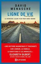Couverture du livre « Ligne de vie » de David Menasche aux éditions Delpierre