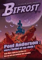 Couverture du livre « Bifrost T.75 ; dossier Poul Anderson » de Revue Bifrost aux éditions Le Belial