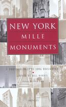 Couverture du livre « New York Mille Monuments » de Bill Harris aux éditions Menges