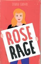Couverture du livre « Rose rage » de Illana Cantin aux éditions Hachette Romans