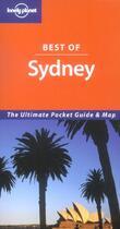 Couverture du livre « Best Of Sydney Version Anglaise) » de Collectif aux éditions Lonely Planet France