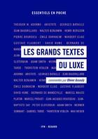 Couverture du livre « Les grands textes du luxe » de Olivier Assouly aux éditions Institut Francais De La Mode