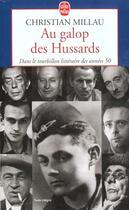 Couverture du livre « Au Galop Des Hussards » de Millau-C aux éditions Lgf