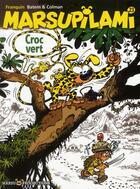 Couverture du livre « Marsupilami T.23 ; Croc vert » de Batem et Stephane Colman et Andre Franquin aux éditions Marsu Productions