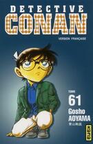 Couverture du livre « Détective Conan T.61 » de Gosho Aoyama aux éditions Kana