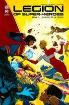 Couverture du livre « Legion of super-heroes T.2 ; le procès de la légion » de Ryan Sook et Brian Michael Bendis aux éditions Urban Comics