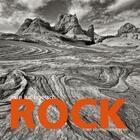 Couverture du livre « Rock ; american landscapes » de Jean-Luc Boetsch aux éditions Trans Photographic Press
