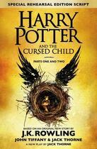 Couverture du livre « Harry Potter and the cursed child ; parts one and two » de J. K. Rowling et John Tiffany et Jack Thorne aux éditions Little Brown