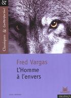 Couverture du livre « L'homme a l'envers » de Fred Vargas aux éditions Magnard