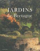 Couverture du livre « Jardins remarquables de Bretagne » de Olivier Hamery et Jacques Hyvert aux éditions Palantines