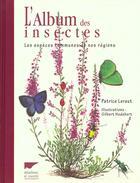Couverture du livre « L'album des insectes d'europe » de Patrice Leraut aux éditions Delachaux & Niestle