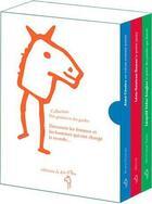 Couverture du livre « 3 poètes de la négritude ; coffret » de Bruno Doucey et Nimrod et Véronique Tadjo aux éditions A Dos D'ane