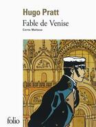 Couverture du livre « Fable de Venise » de Hugo Pratt aux éditions Gallimard