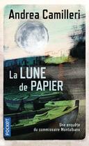 Couverture du livre « La lune de papier » de Andrea Camilleri aux éditions Pocket